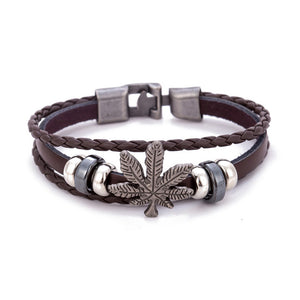 FREE Luxurious Leaf Bracelet