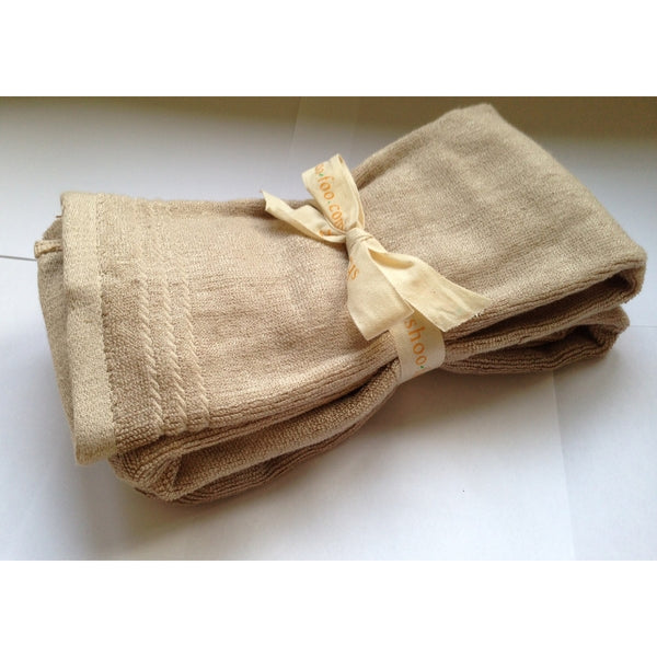 Bundle of 2 Bamboo Hand Towels