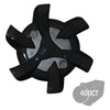 Stealth Bulk Golf Cleats (PINS) | Black/Gray