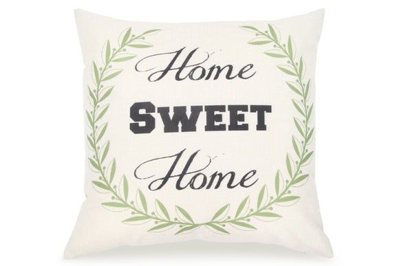 Pal Fabric Blended Linen Square 18x18 Pillow Cover Home Sweet Home Love