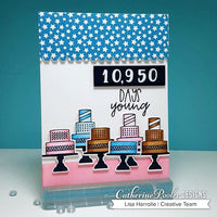 Milestone Birthday Sentiment Mix Stamp Set- Catherine Pooler