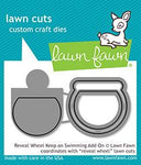 reveal wheel keep on swimming add-on- Lawn Fawn
