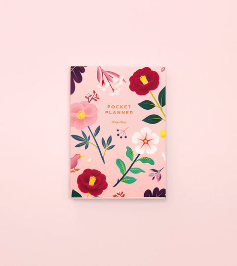 GARDEN BLOOM POCKET PLANNER – BLUSH