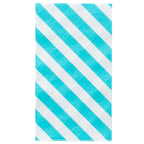 SKY STRIPES DINNER NAPKINS