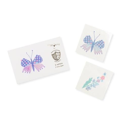 TEMPORARY TATTOOS - FLUTTER BUTTERFLY