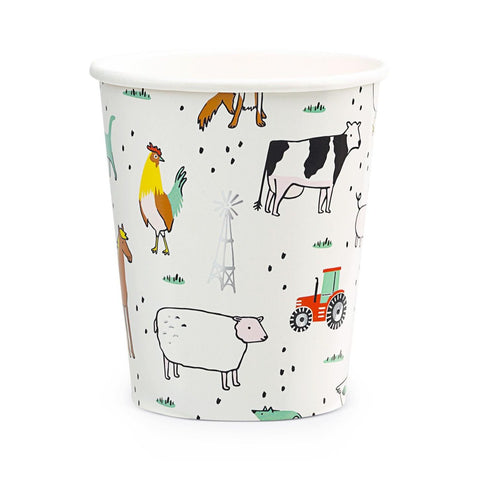 ON THE FARM CUPS