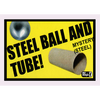 Ball and Tube Mystery (Steel) by Mr. Magic - Trick