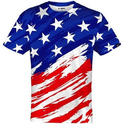 Patriotic Shirt USA quick-dry Jersey - The Flag Shirt