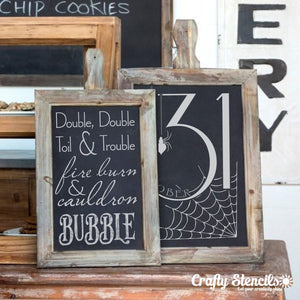 Toil & Trouble Craft Stencil