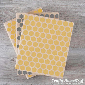 Honeycomb Mini Craft Stencil