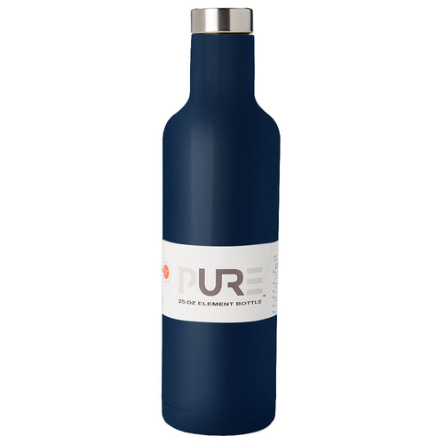 PURE Drinkware 25 oz Bottle - Navy - PURE Drinkware