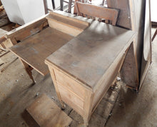 Weathered Shabby Desk, Antique Rustic Salvage