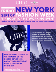 XOXO 5th Avenue New York Fashion Week Roof Top Party sells out in just 5 days!