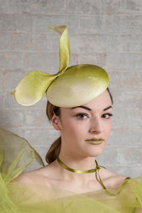 Ascot Hat Lime Green
