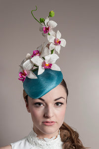 Ascot Hat Wild Orchid