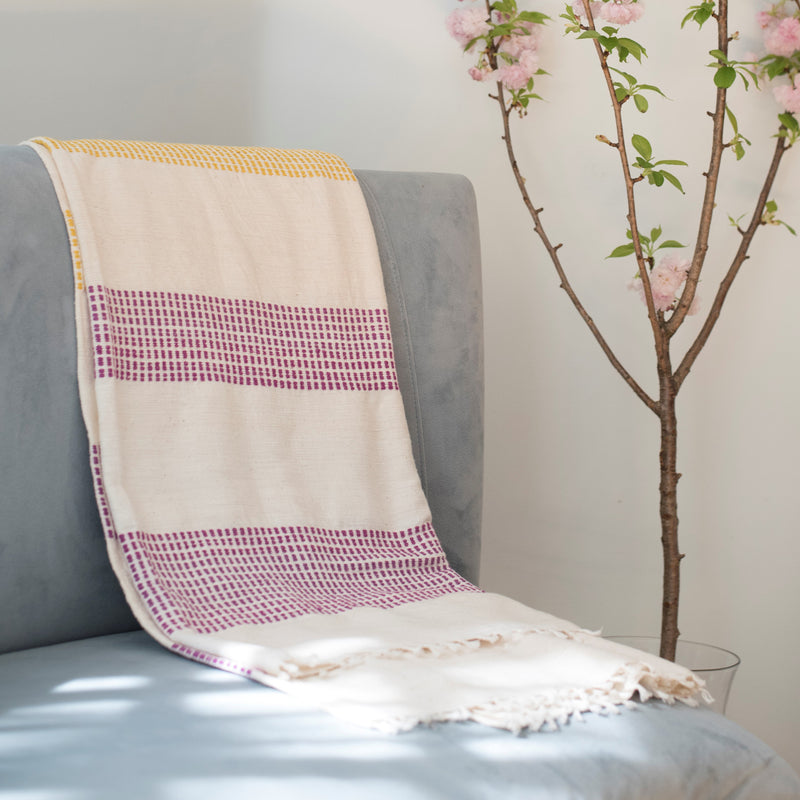 Gabi-Cotton-Throw-Blanket-Ethiopian-Modern-Decor-Couch-Gift EDITED