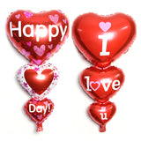 Big I Love You/ Happy Day Letters Balloons