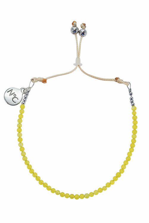 Lime Jade Perlina Bracelet
