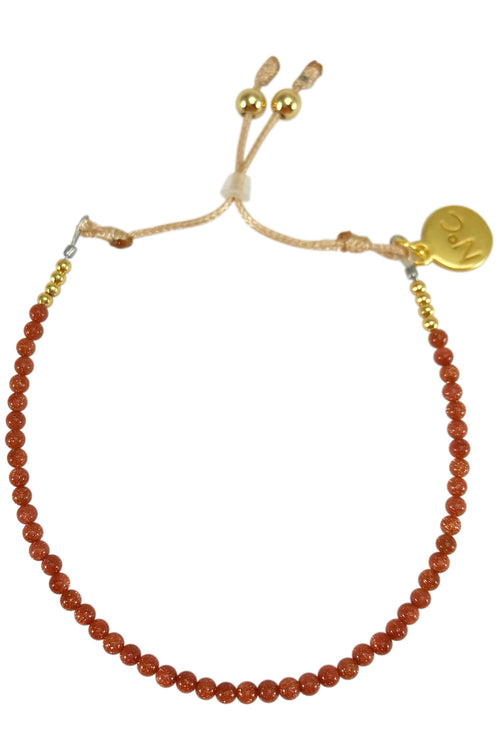 Goldstone Perlina Bracelet