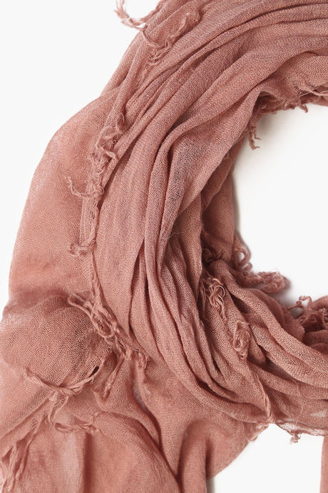 Ash Rose Cashmere and Silk Scarf