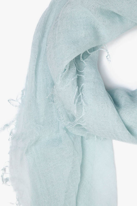 Ice Flow Cashmere and Silk Scarf