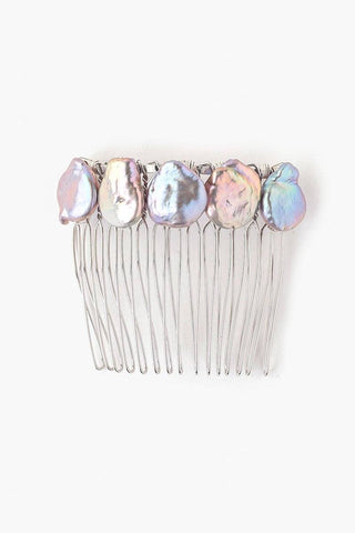White Pearl Duo Hair Combs