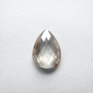 0.59ct 6.54x4.85x2.03mm Pear Rosecut CH25-124