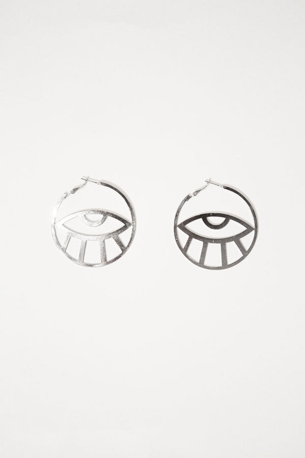 Eye Hoop Earring, Accessories - Repertoire NZ, New Zealand Fashion, Womenswear, Womens Clothing