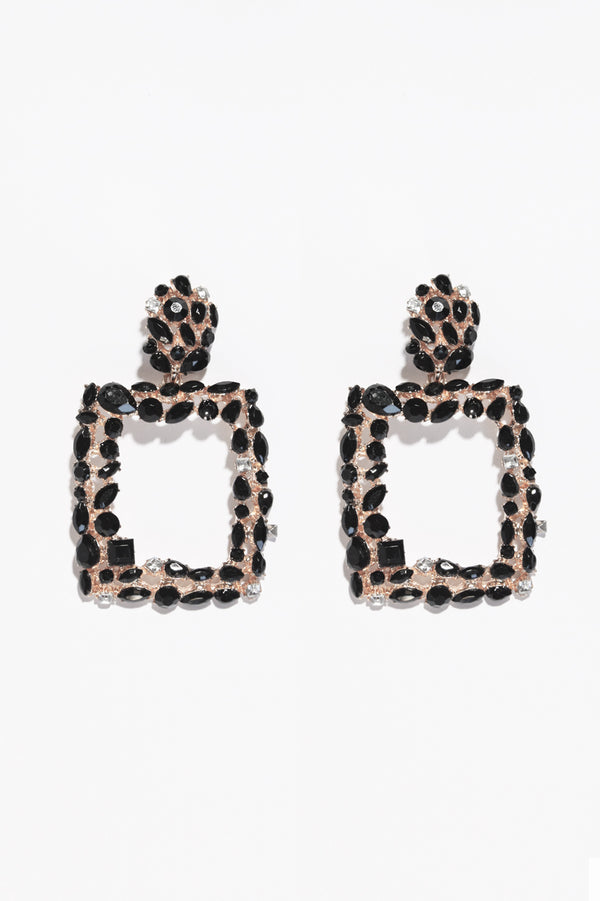 Square Jewel Earring