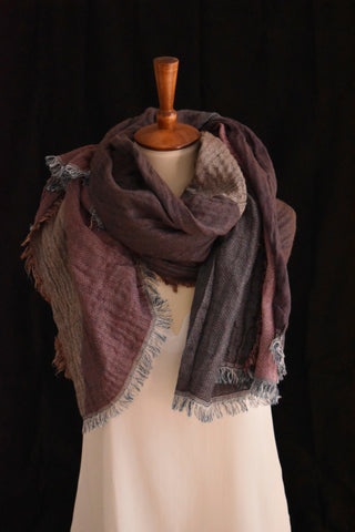 Lainey Scarf in Burgundy