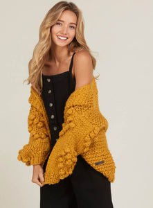 MUSTARD COVET ME SWEATER