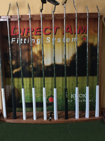 Laser Aim Fitting System