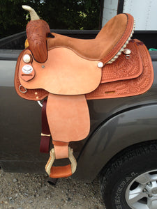 Paul Lamb 'Classic' Saddlery -T.M. - Horse Riding Show Stomper Barrel Saddle - USA