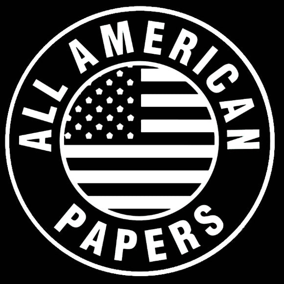 Custom All American Papers Neon Sign