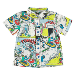Camisa Rowan Cartoon
