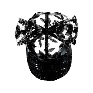 Gorra Transparent Black