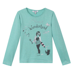 Playera Wonderland