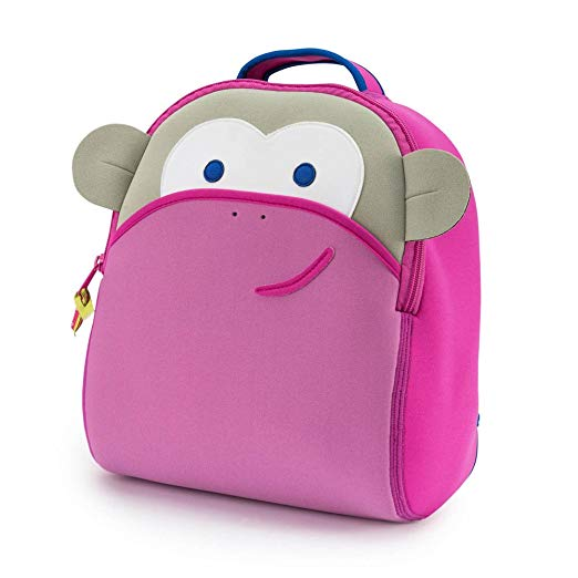Dabba Walla - Blushing Pink Monkey Backpack