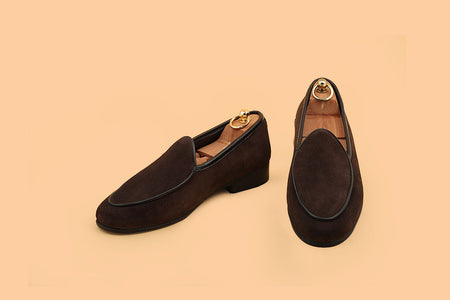 Chevron Belgian Loafer