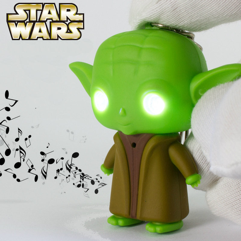 Star Wars Figures LED Keychain