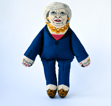 TOY | PLUSH | Theresa May | With 2 squeakers
