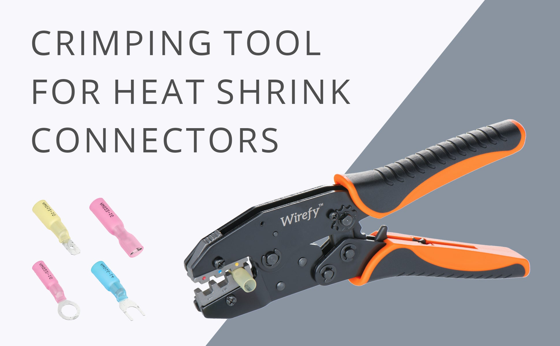 Crimping Tool For Heat Shrink Connectors