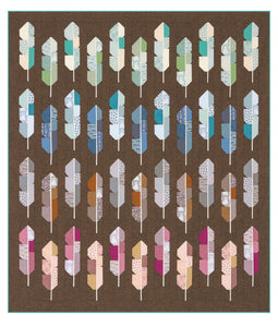 Arctic Feathers Quilt Kit