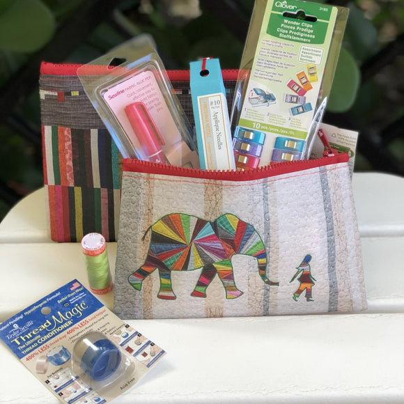 Elephant and I English Paper Piecing Starter Kit