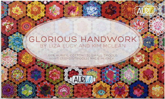Kim's Glorious Garden Handwork Thread by Liza Lucy & Kim McLean