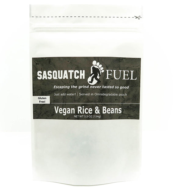 Sasquatch Fuel Vegan Rice & Beans