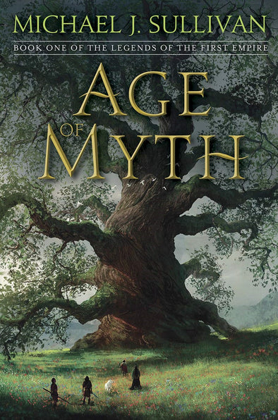 Age Of Myth Signed Trade Hardcover