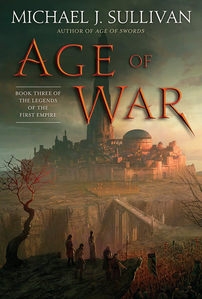 Age Of War Signed Trade Hardcover
