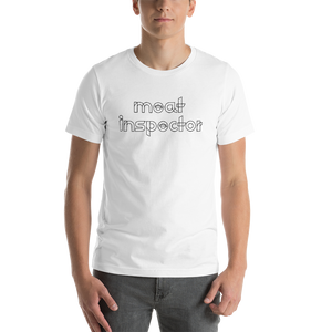 Meat Inspector Short-Sleeve T-Shirt: White