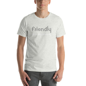 Friendly Short-Sleeve T-Shirt: Lt Heather Grey